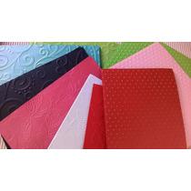 Papel Texturado Scrapbooking Tarjeteria Pack X 6 De 11x14 Cm