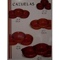 Cazuelas Y Cacerolas De Barro Artesanales
