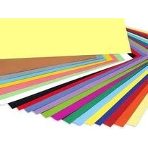 Cartulinas Color 44,5 X 63 C. Paq. X 20