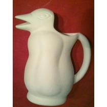 Jarra Pinguino -bizcocho Ceramica-