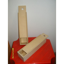 5 Cajas Souvenir Tapa Corrediza Mdf-fibrofacil $50 ($10 C/u)