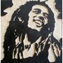 Bob Marley Cuadro De Madera Tallado Para Colgar