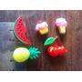 Molde De Silicona Mini X 5 Frutas Cupcake Y Helado