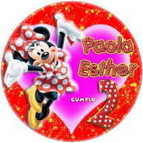 Kit Imprimible Minnie Roja Candy Bar Golosinas
