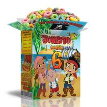 Kit Imprimible Jake Y Los Piratas Candy Bar Golosinas