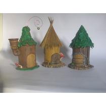Casa De Duendes En Porcelana Fria