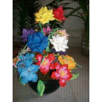 Flores De Goma Eva Laferrere - Arreglo Floral