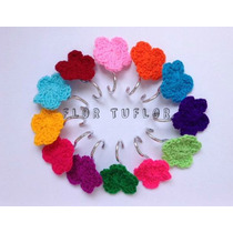Florcitas Tejidas Al Crochet Flores Para Decorar - Souvenirs