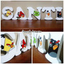 Candy Bar Letras Angry Birds