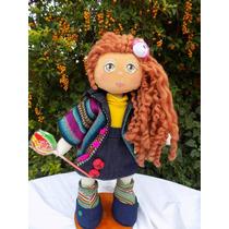 Muñeca De Tela Maitena .