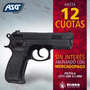 Pistola Asg Air Soft Cz75d 6mm Agente Oficia