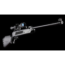 Rifle Aire Comprimido Apolo 5,5 + Mira Telescópica + Balines