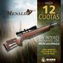 Rifle Menaldi Co2 Cazador D Lujo Niq 5.5