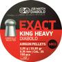 Balines Jsb Exact King Heavy 6.35mm 2.20g 33.95gr X 150 Un
