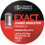 Balines Jsb Exact Jumbo Monster Diabolo 25,39gr X 200 5,52mm