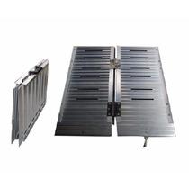 Rampa De Aluminio Para Silla De Ruedas Tipo Valija 1.5 Mts