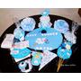 Kit Baby Shower Party Full- Decoracion Y Juegos- 20 Personas