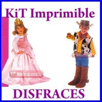 Mega Kit Imprimible Confeccion Moldes Y Patrones Disfraces !
