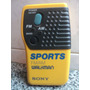 Radio Sony Sports Fm/am Walkman Srf-8 Audio Vintage 1988