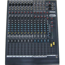 Tecshow Grey-8 Mixer 12 Canales Mono 4 Estereo