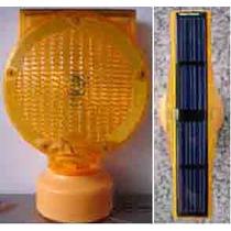 Baliza Solar Ambar Para Torres Y Otros. Modelo Exclusivo.