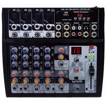 Consola Mixer 9 Canales Usb Mp3 Sd Sound Xtreme Sxm528 16fx