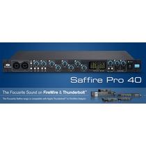 Focusrite Saffire Pro 40 - Interfaz De Audio Firewire