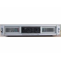 Potencia S-450x Gbr 1800w C/crossover Sonido Pro