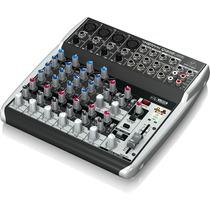 Consola Behringer Xenyx Q1202usb - Mezclador 12 Canales Usb