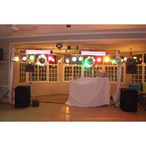 Equipo De Iluminación Audiorrítmico Para Djs
