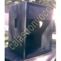 Caja Vacia Para Bafle Modelo Ev T1810 - No Das Jbl Eaw