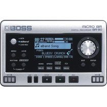 Boss Br80 Grabador Digital Con Tarjeta De Memoria