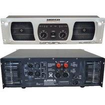 Potencia American Pro Concert C-2600 W Amplificador Dj Envio