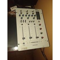 Combo Sonido Dj - Mezcladora, Amplificador, Bafles Y Mic !!!