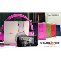Auriculares Shark Net Sn-urban Microfono Ipod Celulares