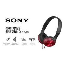 Auricular Sony Mdr-zx310 Vincha Plegable Sonido Potente Colo