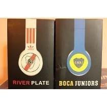 Auriculares Boca, River . Hd-xx- Beats -bass