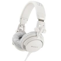 Auriculares Sony Mdr-v55 Plegables Dj Style Blanco White