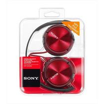 Auricular Sony Mdr-zx310 Rojo Vincha Plegable Grtía. Oficial