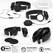 Auriculares Skullcandy Cassete, C/ Mic Cable Desmontable!
