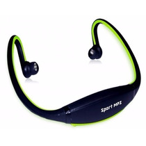 Vincha Para Correr Running Mp3 Radio Fm Usb
