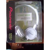 Auriculares Stereo Pioneer Se-mj511-blancos