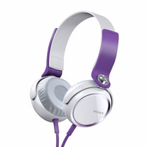 Auriculares Sony Xb400 Violetas+100% Originales C/gtía Ofic!