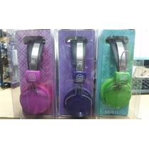 Auricular Noganet Fit Color Verde/rosa/violeta Ngx17 Flores