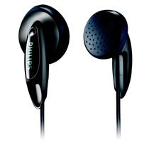 Auricular Philips She 1350 Tipo Boton Negro