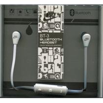 Auricular Nike Bt-3 Bluetooth Manos Libres Inear Microcentro