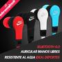 Auricular Deportivo Bluetooth Sport In-ear Manos Libres Agua