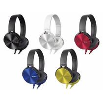 Auriculares Sony Mdr-xb450ap Extra Bass Exelente Sonido!!