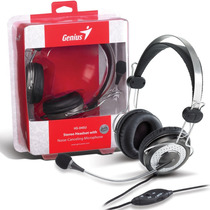 Auricular Con Microfono Genius Hs-04su Cable Mallado Gtia