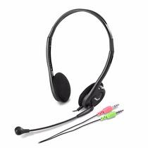 Auriculares Genius Hs-200c Vincha Jack 3,5 Skype